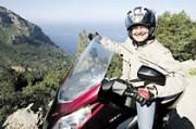 Günter Wimme unterwegs mit scootertouren