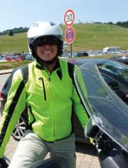 Hermann Fuchs unterwegs mit Scootertouren