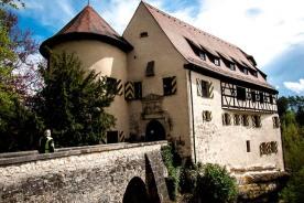 Eine der vielen Burgen in der Fränkischen Schweiz