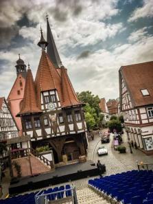 Rathaus von Michelstadt, wie bei der Modelleisenbahn