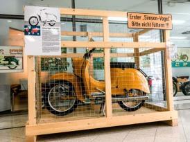 Simson Schwalbe im Zweiradmuseum Suhl