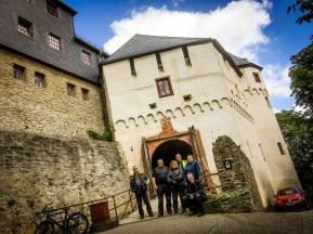 Nur eine der viele Burgen am Rhein: die Marksburg
